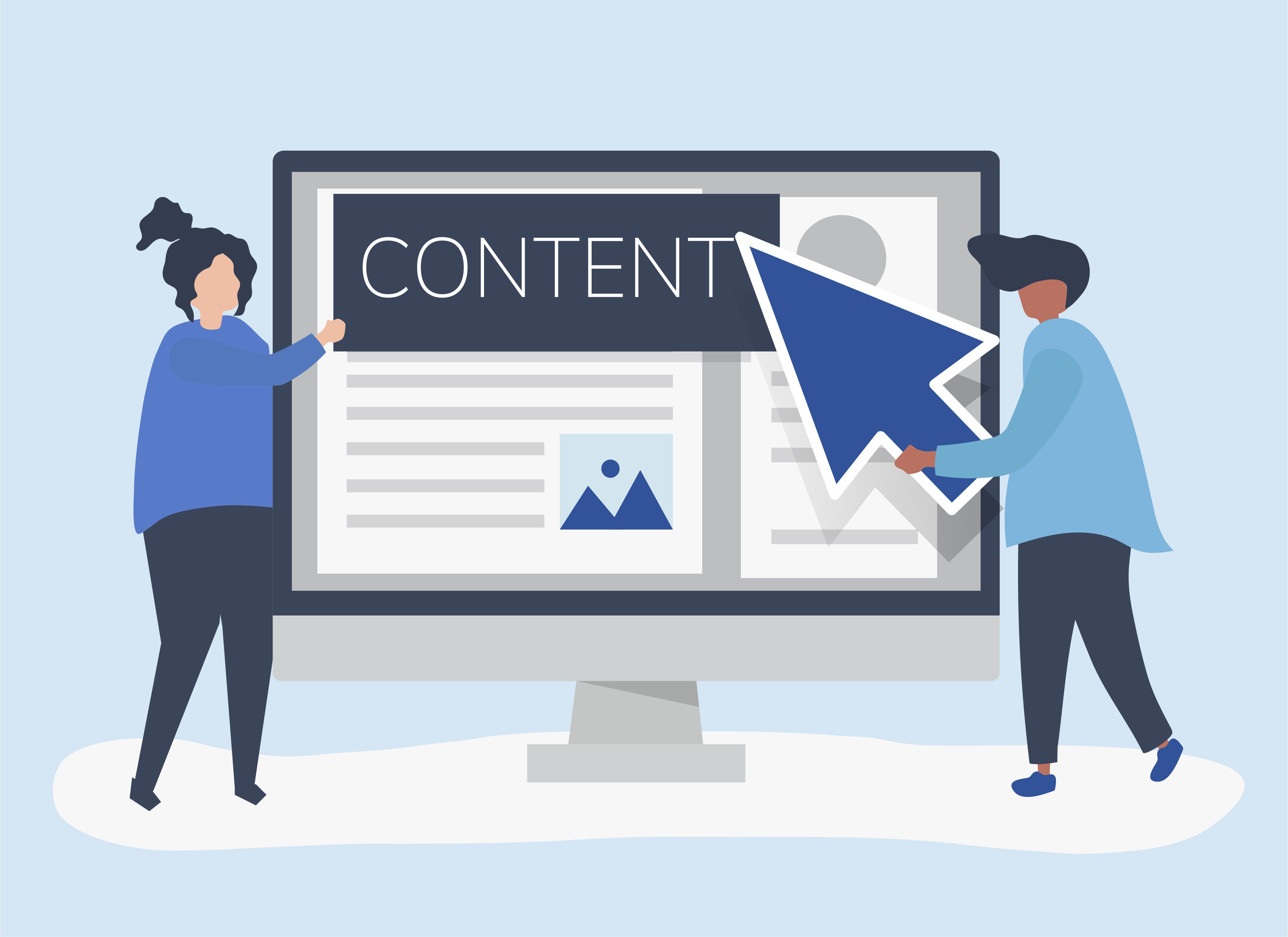 этапы создания сайта контент и контент маркетинг