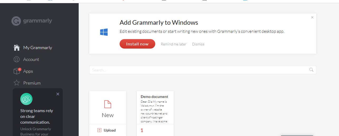 как писать без ошибок Grammarly