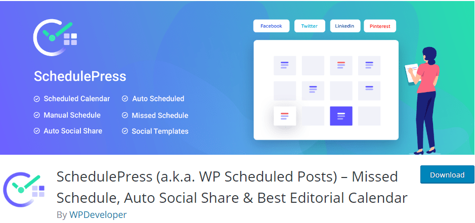 лучшие плагины для WordPress плагины для редакционного календаря