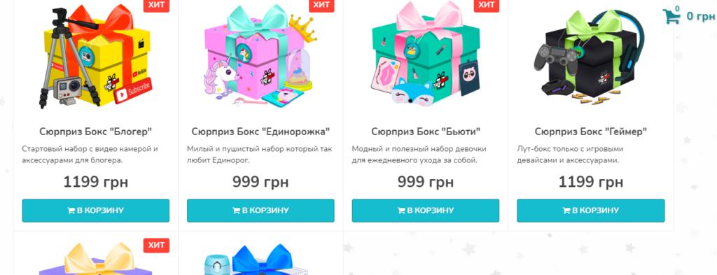 интернет-магазин подарков SEO продвижение создание